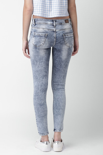 Denims Jeggings and Leggings-You Got Me Ripping Denims